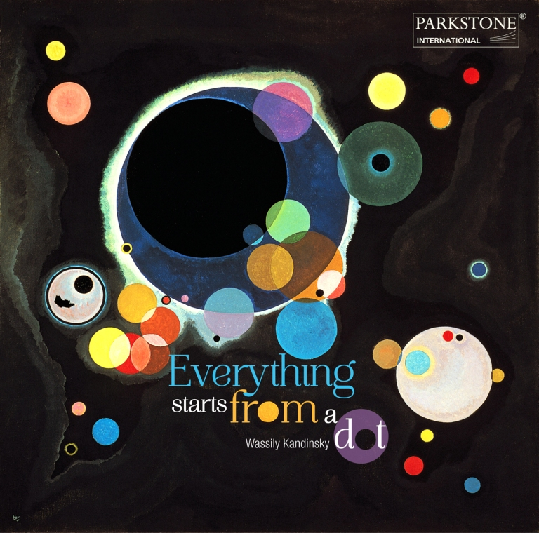 """Everything starts from a dot"", Wassily Kandinsky"
