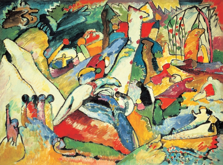 Wassily-Kandinsky_1910-1910_Composition-II-sketch