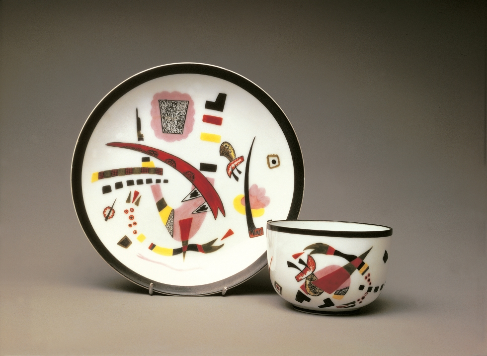 Wassily Kandinsky - Cup with saucer, 1920
