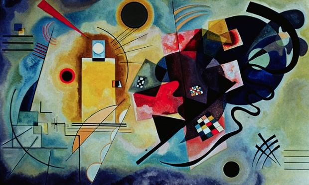 Yellow-Red-Blue, 1925, by Wassily Kandinsky. Photograph: Burstein Collection/Corbis