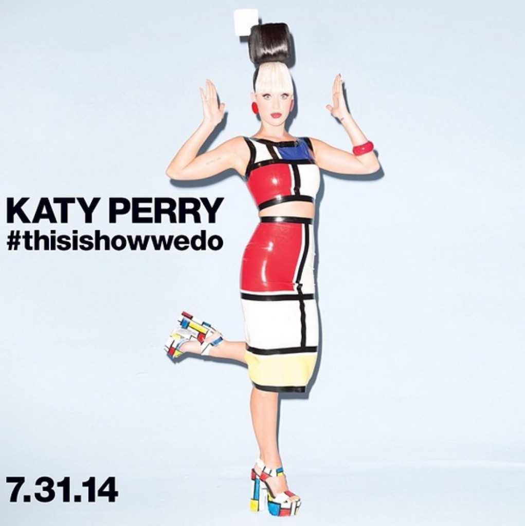 Katy Perry Channels Piet Mondrian in New Music Video ...