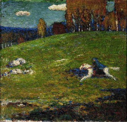 Making impressions:Kandinsky's 'The Blue Rider'.